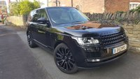 USED 2016 16 LAND ROVER RANGE ROVER 4.4 SDV8 AUTOBIOGRAPHY 5d AUTO 339 BHP