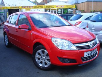 2008 VAUXHALL ASTRA 1.6 BREEZE PLUS 5d 115 BHP £2695.00
