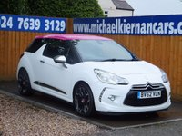 2012 CITROEN DS3 1.6 E-HDI AIRDREAM DSPORT PLUS 3d 111 BHP £5995.00