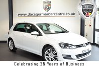 "USED 2015 64 VOLKSWAGEN GOLF 2.0 GT TDI BLUEMOTION TECHNOLOGY DSG 5DR AUTO 148 BHP full vw service history *NO ADMIN FEES* FINISHED IN STUNNING PURE WHITE WITH CLOTH UPHOLSTERY + FULL VW SERVICE HISTORY + BLUETOOTH + DAB RADIO + CRUISE CONTROL + HEATED MIRRORS + AIR CONDITIONING + PARKING SENSORS + 17"" ALLOY WHEELS"