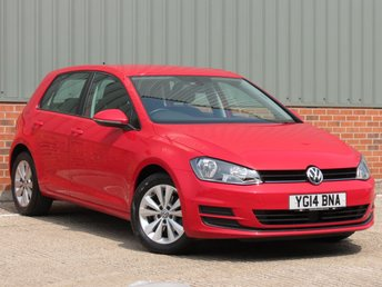 2014 VOLKSWAGEN GOLF 1.6 SE TDI BLUEMOTION TECHNOLOGY 5d 103 BHP £8995.00