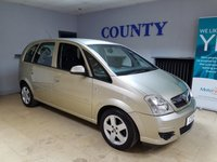 USED 2008 58 VAUXHALL MERIVA 1.4 CLUB 16V TWINPORT 5d 90 BHP * SUPERB CONDITION * P/X TO CLEAR *