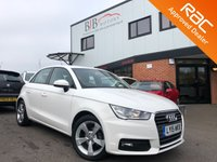 USED 2015 15 AUDI A1 1.0 SPORTBACK TFSI SPORT 5d 93 BHP ALLOY WHEELS   REAR PARKING SENSORS   START/STOP   AUTOMATIC LIGHTS   ELECTRIC MIRRORS AND WINDOWS   AIR CONDITIONING  CRUISE CONTROL   BLUETOOTH   DAB