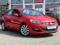 USED 2012 62 VAUXHALL ASTRA 1.6 EXCLUSIV 5d 113 BHP STUNNING, LOW MILEAGE, VAUXHALL ASTRA 1.6 EXCLUSIVE, 5 DOOR. Finished in POWER RED with contrasting Grey Cloth trim. This practical family hatch is enjoyable to drive and has a good level of equipment in its well designed interior. Features include, Cruise Control, Alloys, A/Con, 2 keys, Front Fogs, Rear Parking Sensors and much more.