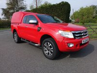 USED 2013 13 FORD RANGER XLT 4X4 SUPER CAB PICK UP 2.2 TDCI 150 BHP Rare Supercab With High Specification And No VAT! Good Looking Truck In Colorado Red!!