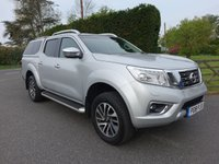 USED 2018 18 NISSAN NAVARA TEKNA 4X4 DOUBLE CAB AUTO 2.3 DCI 190 BHP Tekna With Ultimate Specification & Additional Glazed Hard Top! Balance Of 5 Year Warranty Remaining & Good Saving On New Price!