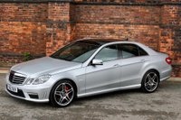 USED 2013 B MERCEDES-BENZ E CLASS 5.5 E63 BlueEFFICIENCY AMG MCT 7S (s/s) 4dr **NOW SOLD**