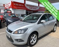 USED 2009 59 FORD FOCUS 1.6 ZETEC 5d 100 BHP *ONLY 55,000 MILES*