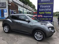 USED 2016 65 NISSAN JUKE 1.6 ACENTA XTRONIC 5d AUTO 117 BHP, only 8000 miles ***APPROVED DEALER FOR CAR FINANCE247 AND ZUTO ***