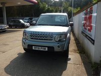 USED 2011 61 LAND ROVER DISCOVERY 3.0 4 SDV6 HSE 5d AUTO 255 BHP 2012 MODEL, 8 SPEED GEARBOX.