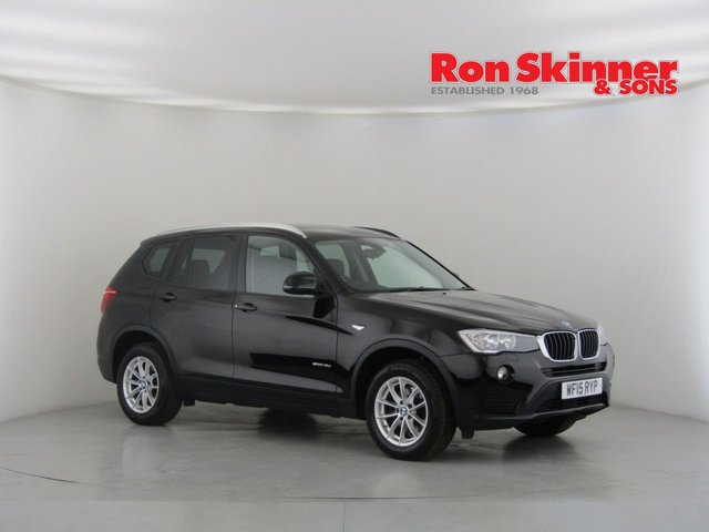 View our 2015 15 BMW X3 2.0 SDRIVE18D SE 5d 148 BHP