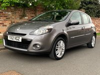 USED 2012 12 RENAULT CLIO 1.1 DYNAMIQUE TOMTOM TCE 5d 100 BHP 2 OWNERS, FULL SERVICE HISTORY, MOT APR 20, EXCELLENT CONDITION, NAV, 1/2 LEATHER, CRUISE, BLUETOOTH, AIR CON, FOGS, RADIO CD, E/WINDOWS, R/LOCKING, FREE WARRANTY, FINANCE AVAILABLE, HPI CLEAR, PART EXCHANGE WELCOME,