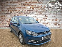 USED 2015 15 VOLKSWAGEN POLO 1.2 SE TSI 5d 89 BHP AMAZING LOW MILEAGE CAR