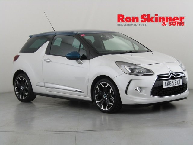 View our 2015 65 DS DS 3 1.6 THP DSPORT S/S 3d 161 BHP with Blue Roof