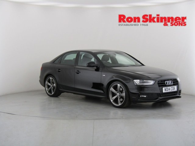View our 2014 14 AUDI A4 2.0 TDI BLACK EDITION START/STOP 4d AUTO 148 BHP