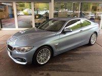 2014 BMW 4 SERIES 3.0 430D LUXURY 2d AUTO 255 BHP £16475.00