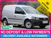 USED 2017 17 VOLKSWAGEN CADDY 2.0 TDI EURO 6 STARTLINE C20 WITH AIR CON EURO 6 PLY-LINED BLUETOOTH AIR CON SLIDING SIDE DOOR