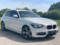 2014 BMW 1 SERIES 1.6 116I SPORT 5d 135 BHP £10299.00