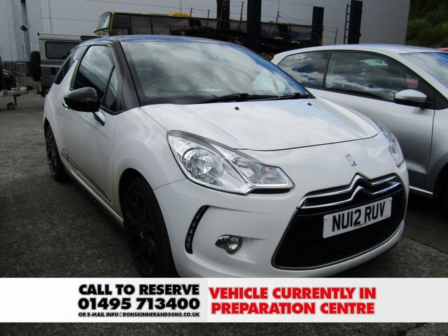 View our 2012 12 CITROEN DS3 1.6 E-HDI AIRDREAM DSPORT 3d 111 BHP