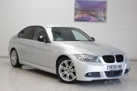 USED 2009 59 BMW 3 SERIES 2.0 318D M SPORT 4d 143 BHP FEBRUARY 2020 MOT & Just Been Serviced