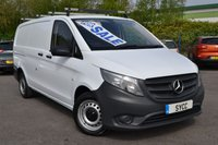 USED 2015 65 MERCEDES-BENZ VITO 1.6 111 CDI 5d 114 BHP LONG LWB 1 COMPANY OWNER FROM NEW ~ TAILGATE ~ 6 MONTHS WARRANTY ~ 2 KEYS