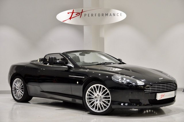 2009 59 ASTON MARTIN DB9 5.9 V12 VOLANTE 2d AUTO 470 BHP MY2010 GLASS KEY MODEL