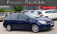 USED 2008 58 TOYOTA AVENSIS 2.0 TR D-4D 5d 125 BHP FULL TOYOTA HISTORY