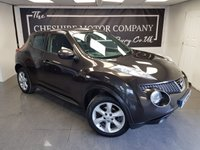 2011 NISSAN JUKE 1.6 ACENTA 5d + 2 FORMER KEEPERS + CLIMATE CONTROL £5275.00