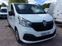 USED 2016 16 RENAULT TRAFIC SWB 1.6 SL27 BUSINESS PLUS ENERGY DCI S/R 120 BHP 1 OWNER FSH NEW MOT  FREE 6 MONTHS AA WARRANTY INCLUDING RECOVERY AND ASSIST NEW MOT EURO 5 SPARE KEY REAR PARKING SENSORS AIR CONDITIONING ELECTRIC WINDOWS AND MIRRORS BLUETOOTH ECO 6 SPEED