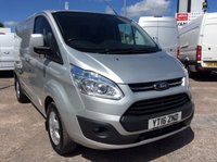 USED 2016 16 FORD TRANSIT CUSTOM SWB 2.2 270 LIMITED LR 124 BHP 1 OWNER FSH NEW MOT  FREE 6 MONTHS AA WARRANTY INCLUDING RECOVERY AND ASSIST NEW MOT EURO 5 SPARE KEY ELECTRIC WINDOWS AND MIRRORS HEATED FRONT SEATS AIR CONDITIONING BLUETOOTH CRUISE CONTROL 6 SPEED REAR PARKING SENSORS