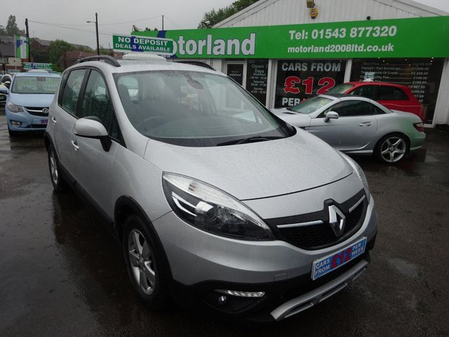 USED 2013 13 RENAULT SCENIC 1.5 XMOD DYNAMIQUE TOMTOM ENERGY DCI S/S 5d 110 BHP ** 01543 877320 ** JUST ARRIVED ** FULL SERVICE HISTORY **DIESEL