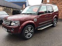 2015 LAND ROVER DISCOVERY 3.0 SDV6 HSE LUXURY 5d AUTO 255 BHP £27995.00