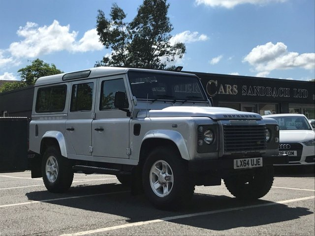 USED 2014 64 LAND ROVER DEFENDER 2.2 TD XS STATION WAGON 5d 122 BHP