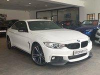 USED 2016 16 BMW 4 SERIES 2.0 420D M SPORT 2d AUTO 188 BHP M PERFORMANCE STYLING+SAT NAV