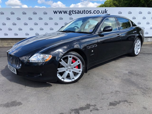 Used Maserati Quattroporte >> Used Maserati Quattroporte Cars In Chorley From Gts Automotive
