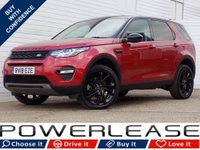 USED 2018 18 LAND ROVER DISCOVERY SPORT 2.0 TD4 HSE BLACK 5d AUTO 180 BHP PANORAMIC ROOF REAR CAMERA