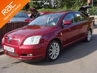 USED 2004 04 TOYOTA AVENSIS 2.0 T SPIRIT D-4D 5dr, FULL SERVICE HISTORY *2 OWNERS*SAT NAV*CLIMATE*CRUISE*FULL LEATHER*