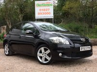 USED 2010 60 TOYOTA AURIS 1.6 SR VALVEMATIC 5dr Low Miles, 1 Owner From New