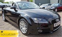 USED 2012 62 AUDI TT 2.0 TFSI SPORT 2d 208 BHP SERVICE HISTORY 2 KEYS GREY LEATHER 12 MONTHS AA RECOVERY