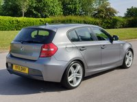 USED 2011 11 BMW 1 SERIES 2.0 120D M SPORT 5d 175 BHP