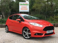 USED 2013 63 FORD FIESTA 1.6 ST-2 3dr Sat Nav, Keyless, Heated Seats