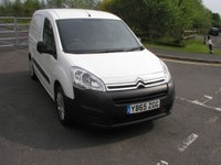 USED 2015 65 CITROEN BERLINGO 1.6 625 LX L1 HDI 1d 74 BHP Van - NO VAT Only 24000 miles, Service History, 1 Owner from New