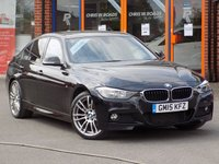 USED 2015 15 BMW 3 SERIES 320d M Sport 4dr Step Auto ** Sat Nav + Leather + 19's **