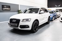 2013 AUDI Q5 2.0 TDI QUATTRO S LINE PLUS 5d AUTO 175 BHP BANG & OLUFSEN SOUND PACKAGE & BLACK PACKAGE UPGRADES  £16495.00