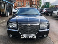 USED 2008 58 CHRYSLER 300C 3.0 SRT DESIGN 4d AUTO 215 BHP FINANCE ME,300C V6 CRD SRT DESIGN, MOT