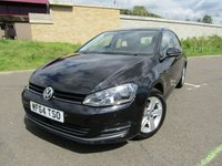 USED 2014 64 VOLKSWAGEN GOLF 1.6 MATCH TDI BLUEMOTION TECHNOLOGY 5d 103 BHP FANTASTIC MPG