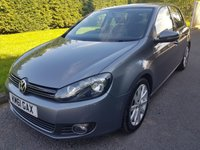 USED 2011 61 VOLKSWAGEN GOLF 2.0 GT TDI 5d 138 BHP Great Specification, Lovely Service History and Excellent Fuel Economy!!!