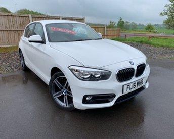 2016 BMW 1 SERIES 2.0 118D SPORT 5d 147 BHP £11995.00