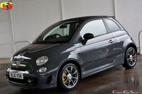USED 2016 16 ABARTH 500C FIAT 500 1.4 TURBO T-JET 595C CONVERTIBLE 2 DOOR 140 BHP Finance? No deposit required and decision in minutes.