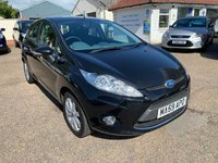 USED 2009 59 FORD FIESTA 1.4 ZETEC 16V 5d 96 BHP FULL SERVICE HISTORY WITH 9 STAMPS IN THE BOOK / VOICE COMMS / BLUETOOTH